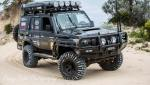modified toyota 79 series landcruiser single cab modified