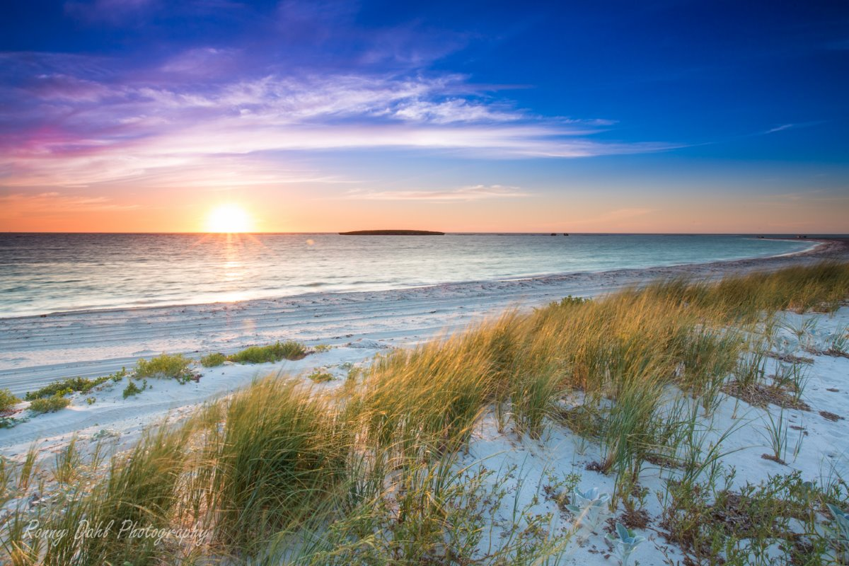 Jurien Marine Park, sunset.