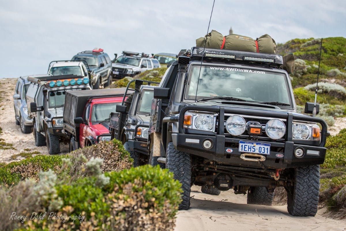 4wd convoy.