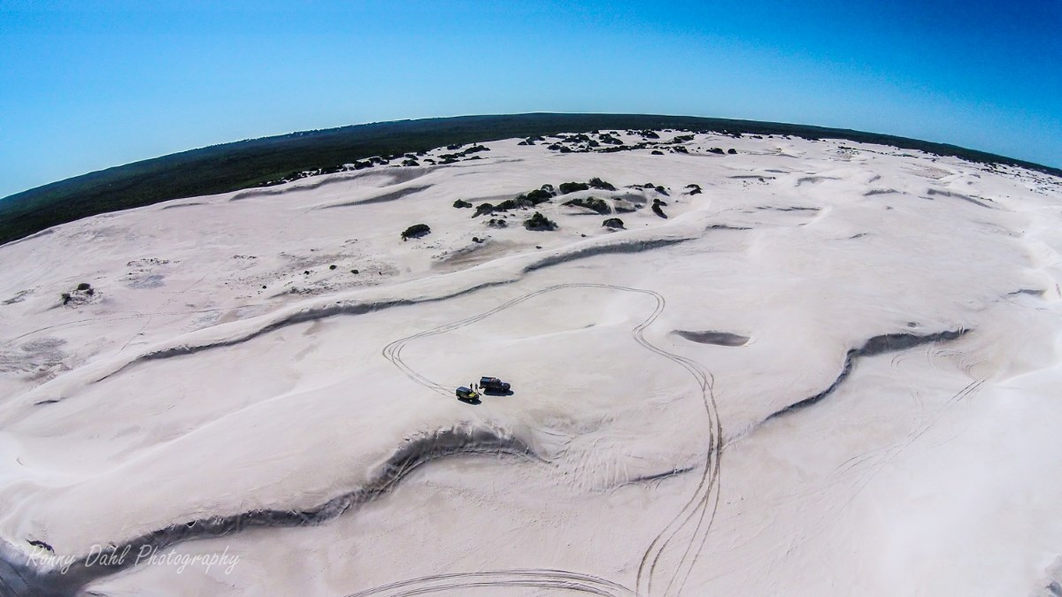 Lancelin sand dunes.
