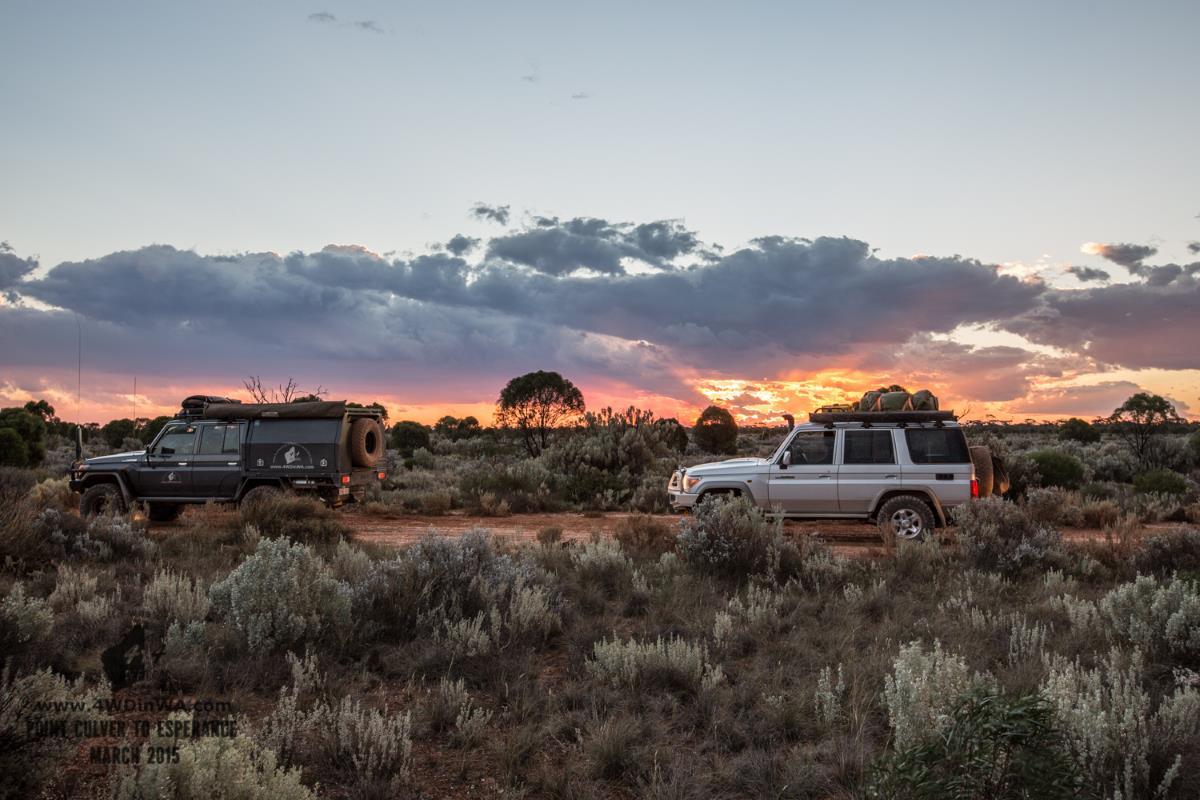 Sunset, Western Australia.