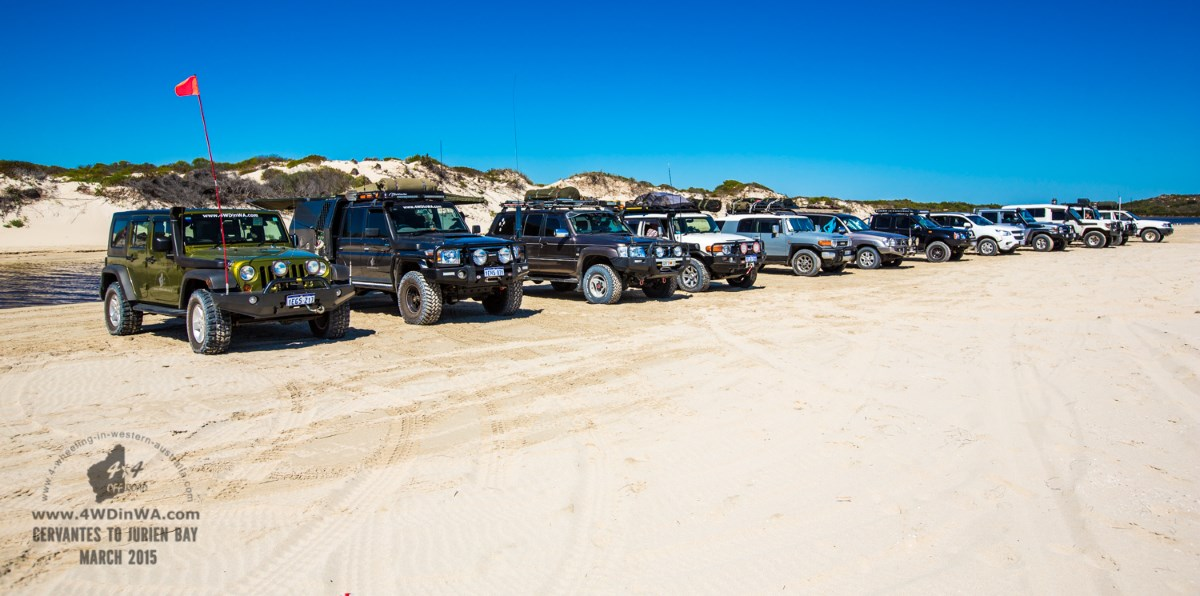 Tag Along Tour, Jurien Bay, Western Australia.