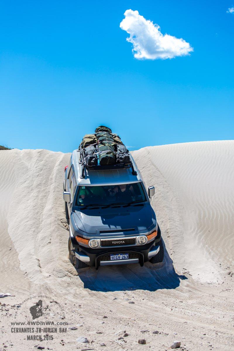 4wd Tag Along Tour, Jurien Bay Marine Park, Western Australia.
