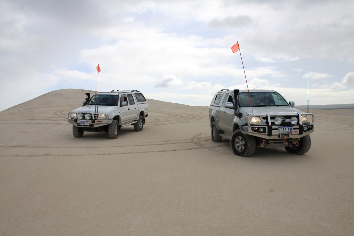 4x4 at Lancelin