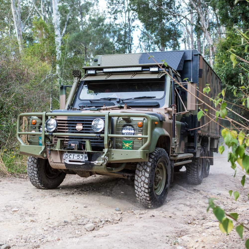 Land Rover Perentie 6X6 1990, Modified