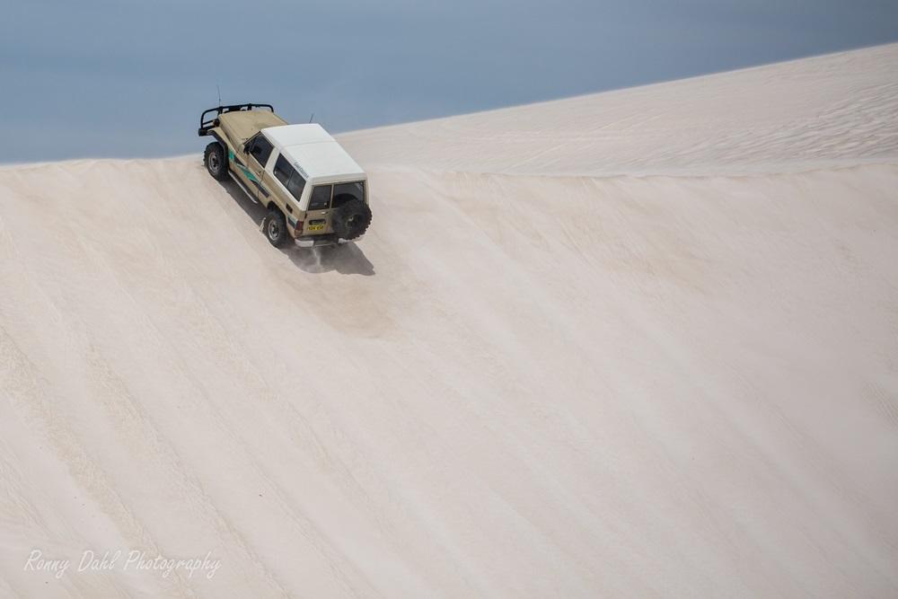 70 Series Land Cruisers at Lancelin, Western Australia.