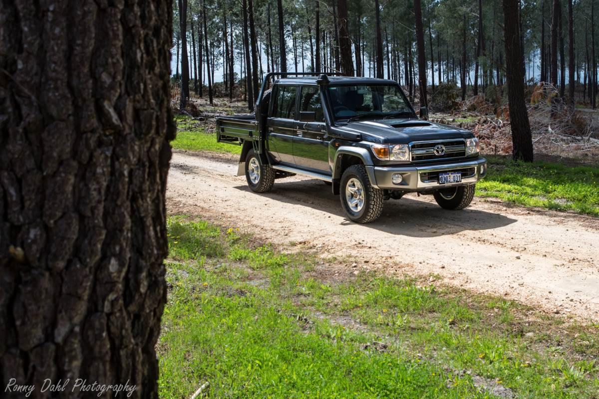 Toyota 79 series Landcruiser V8 Turbo Diesel Dual cab Ute.