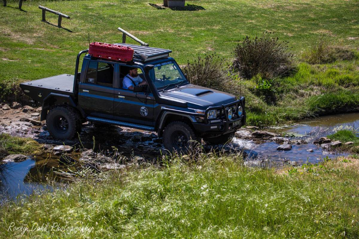 79 Series Toyota Landcruiser Modified.