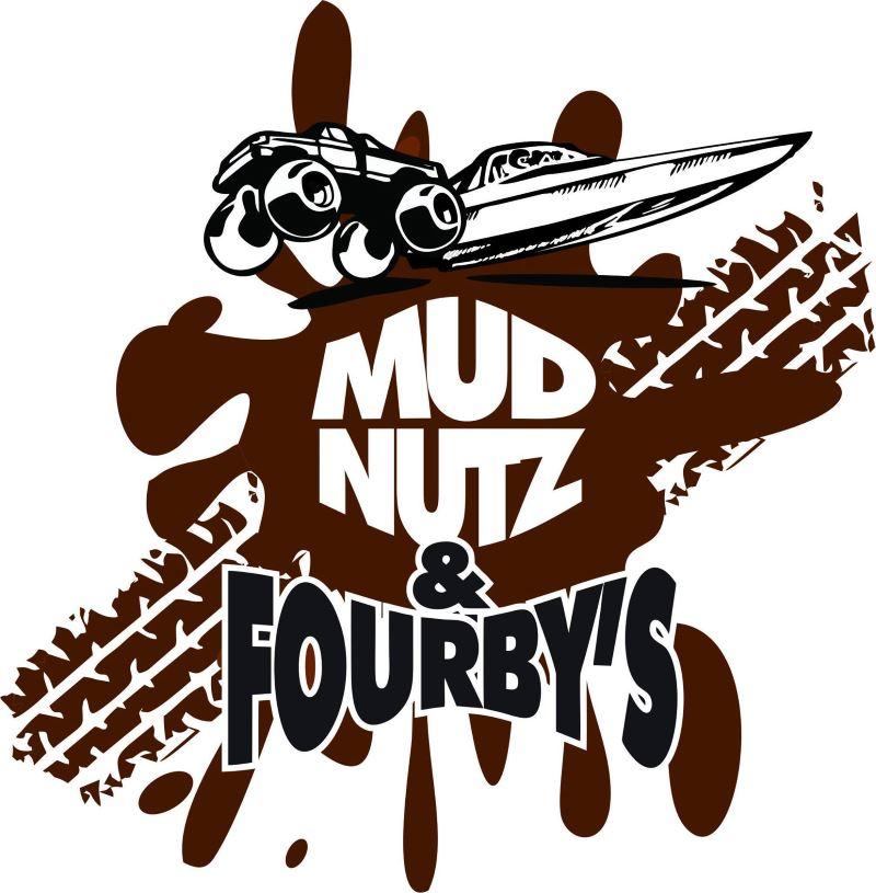 Mud Nutz & Fourby's Logo.