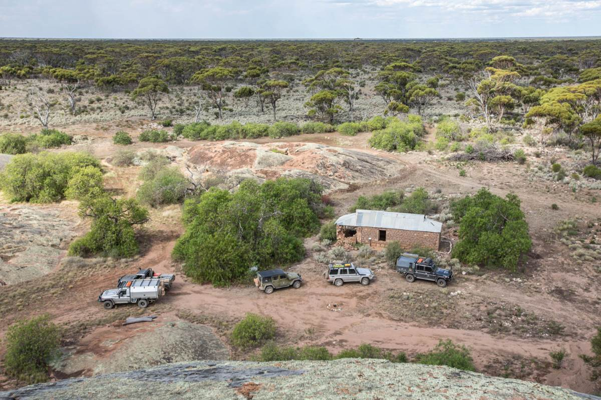Booanya Rock & Homestead, Western Australia.