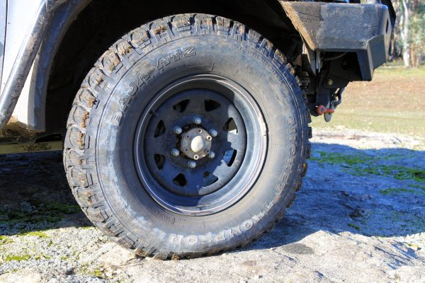 Aggessive All Terrain Tire.