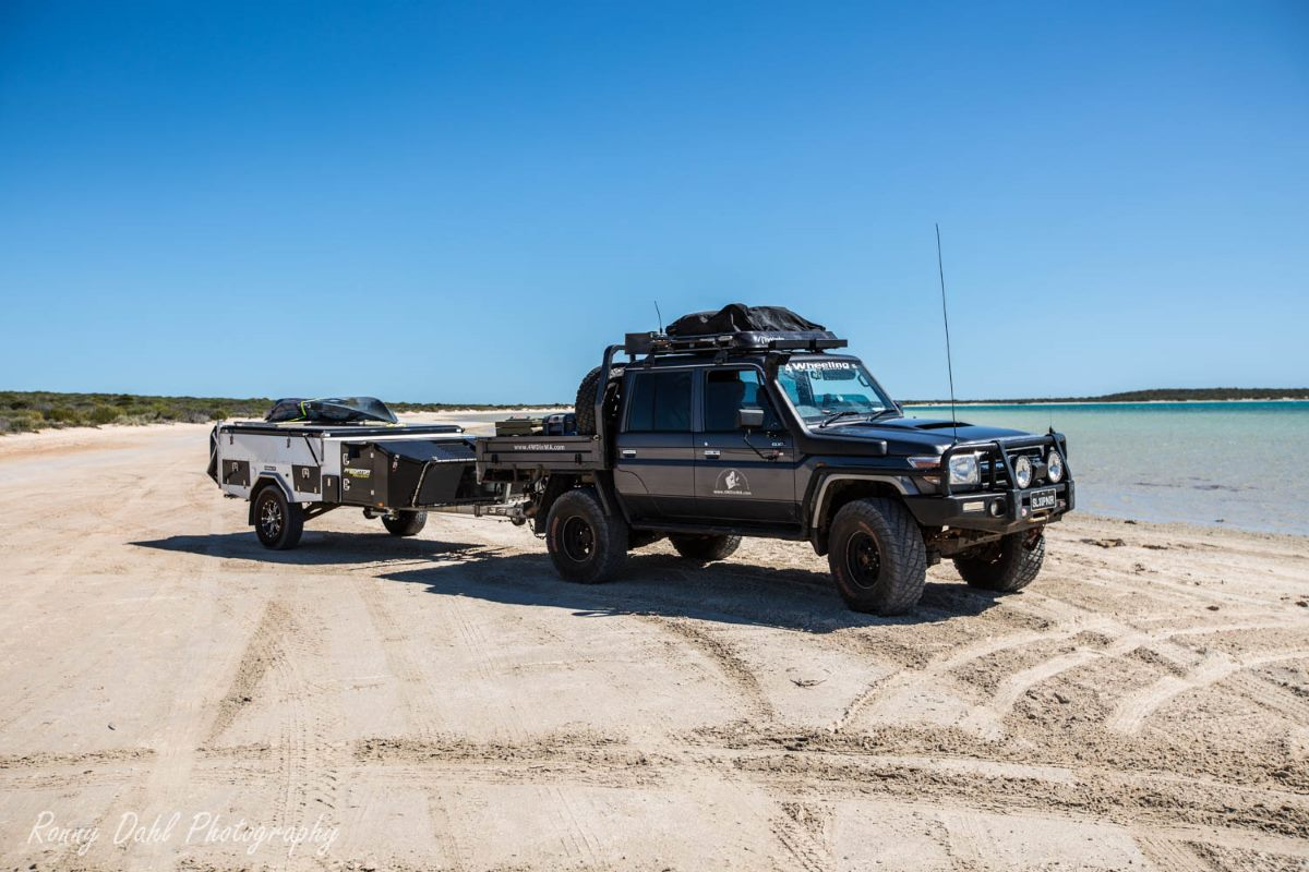 Off-road with Predator Campers PUMA FF.