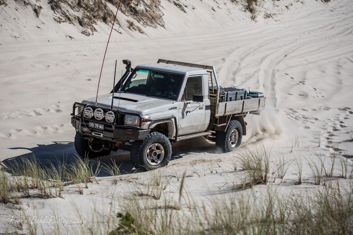 Single cab 79 series Landcruiser.