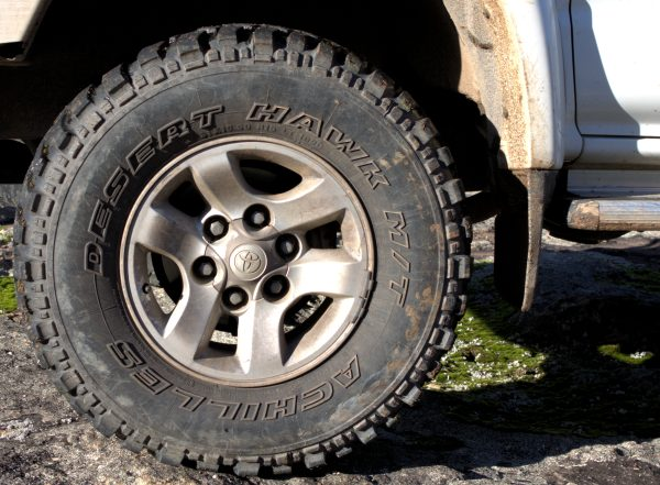 Desert Hawk Mud Tire.