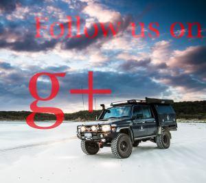 Google+ follow button.