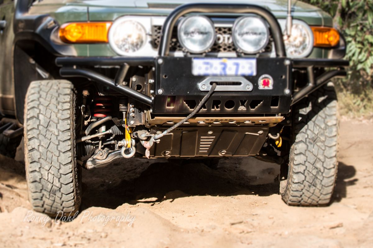 IFS front suspension setup FJ Cruiser.