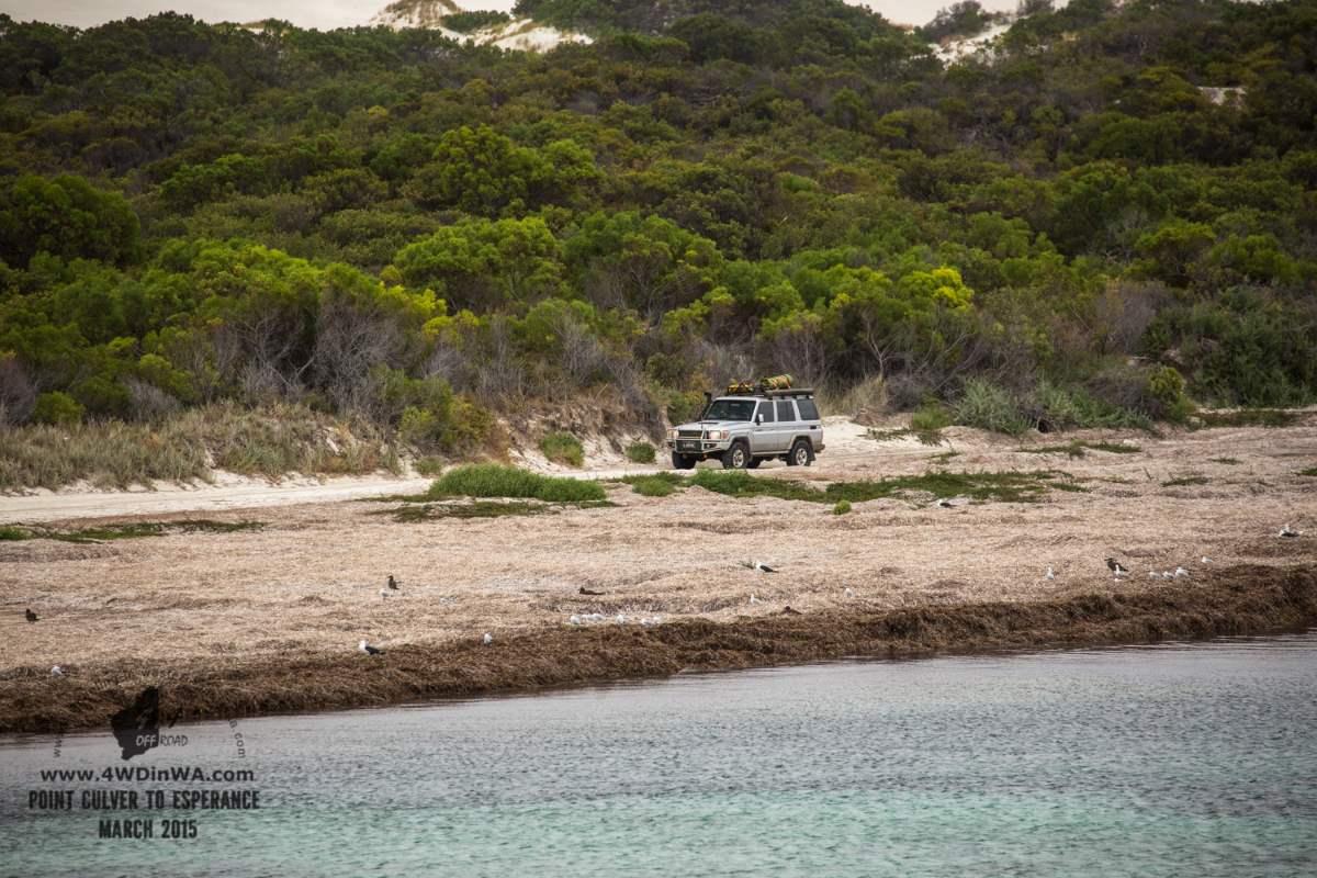 Toyota Land Cruiser, Western Australia.