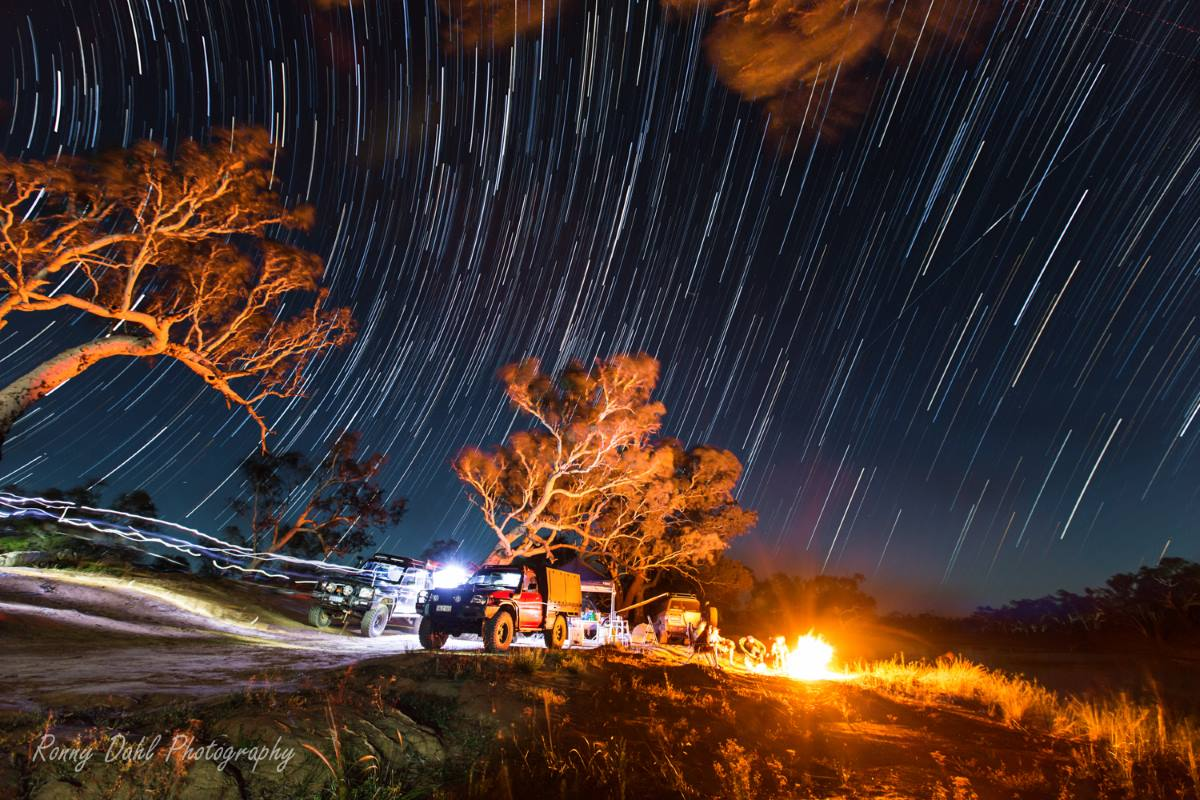 Eagles Bay Camp At Murchison Off-Road Adventure Park, Western Australia.