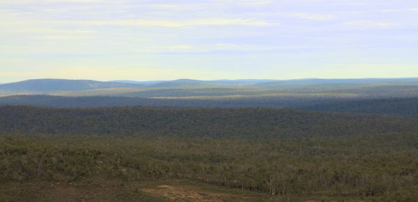 View From Mt Dale lookout at Mundaring.