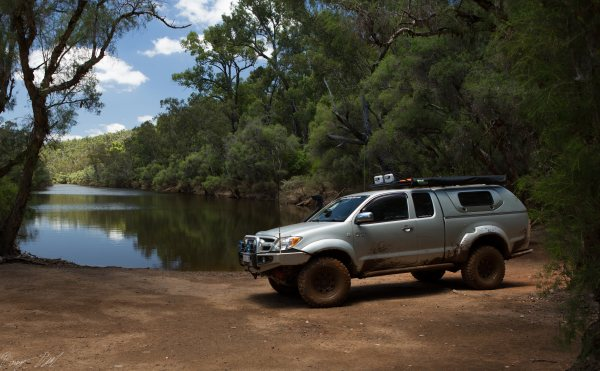 Murray River flood planes. Western Australia.