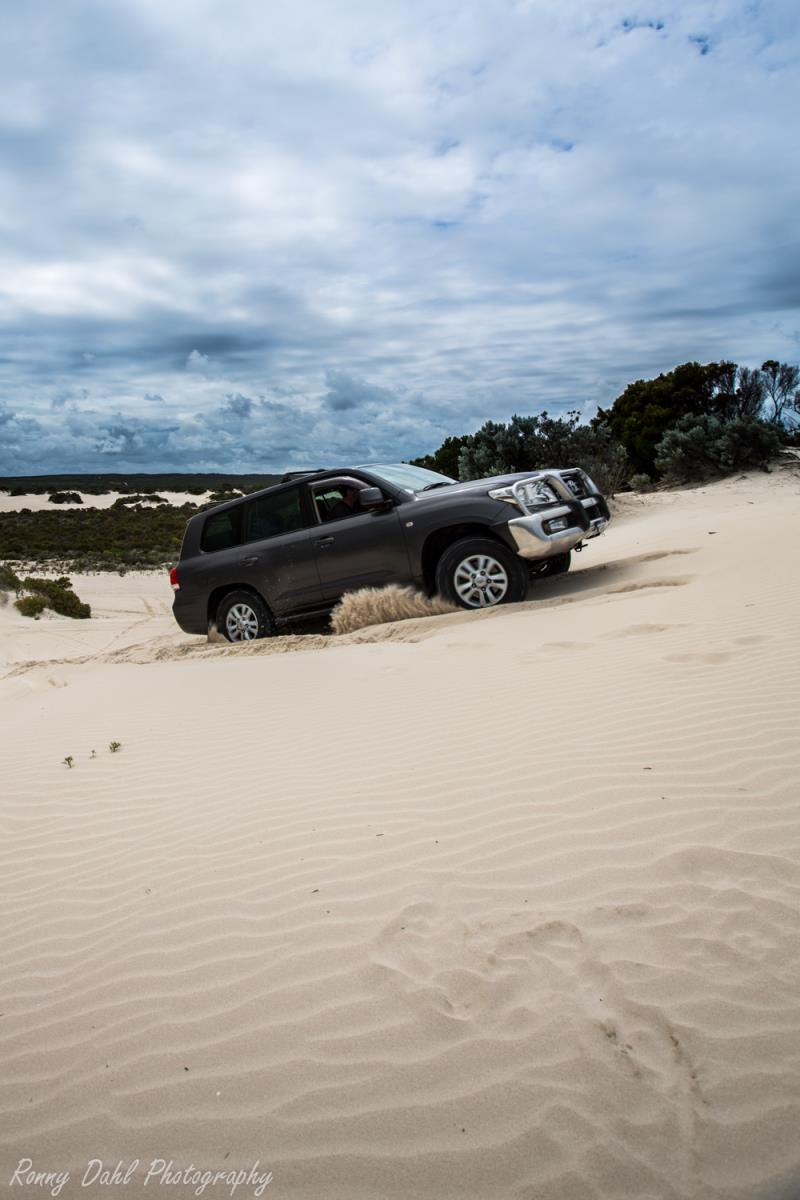 Sand Dune play at Cervantes.WA