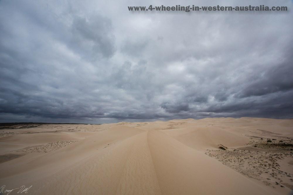 Sand Dunes Reef Beach. Western Australia.