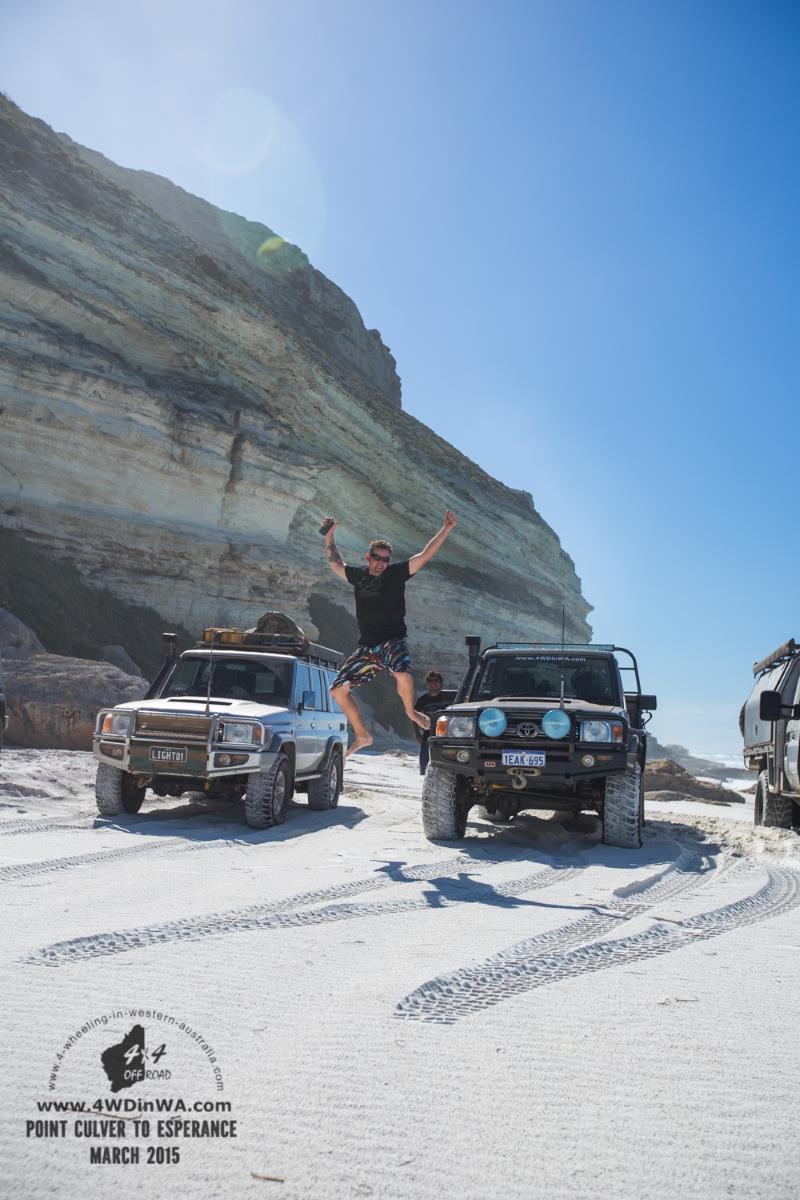 Point Culver Cliffs, Western Australia.