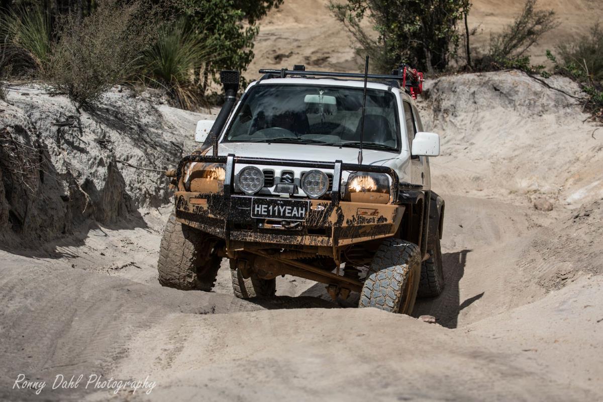 Suzuki Jimny 4x4.