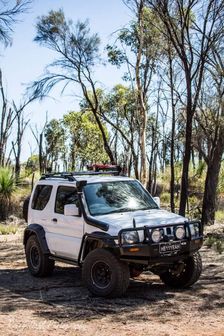 Suzuki Jimny 4x4. Modified.