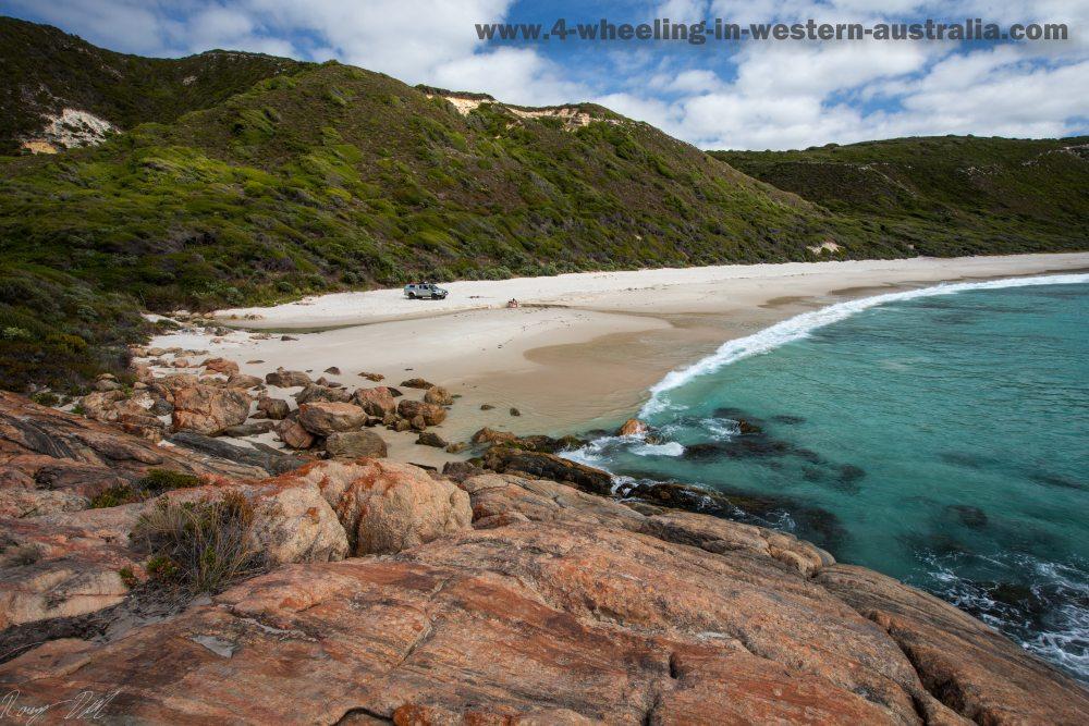 Stream-Beach. Western Australia.