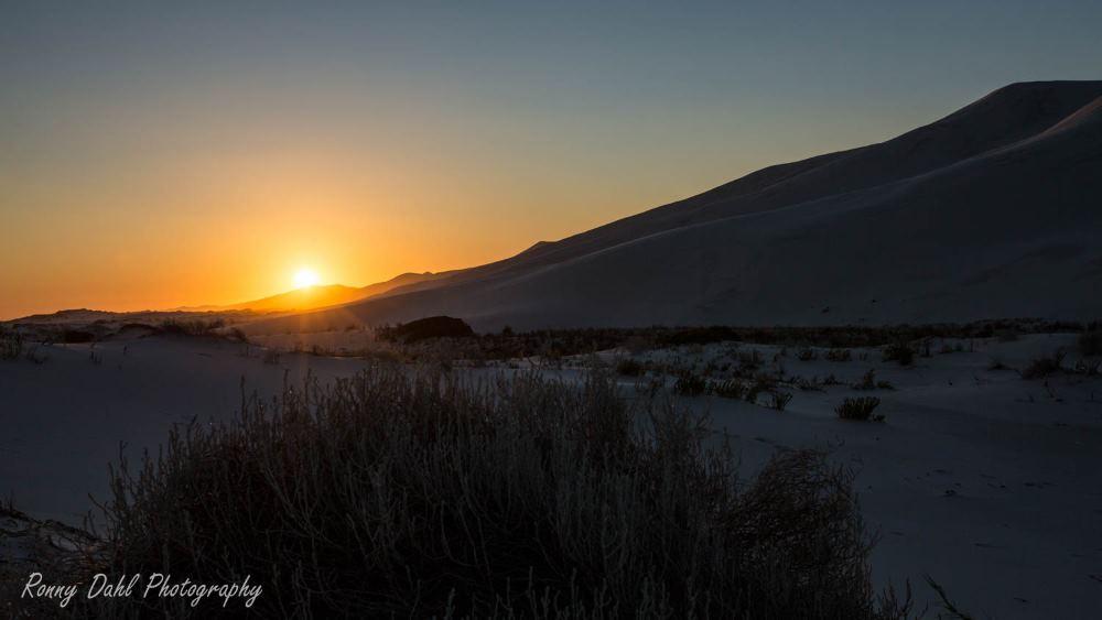 Sunset at Bilbunya, Western Australia.