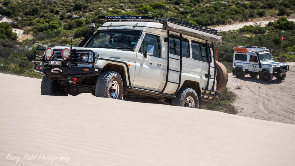 Toyota LandCruiser Troopy.