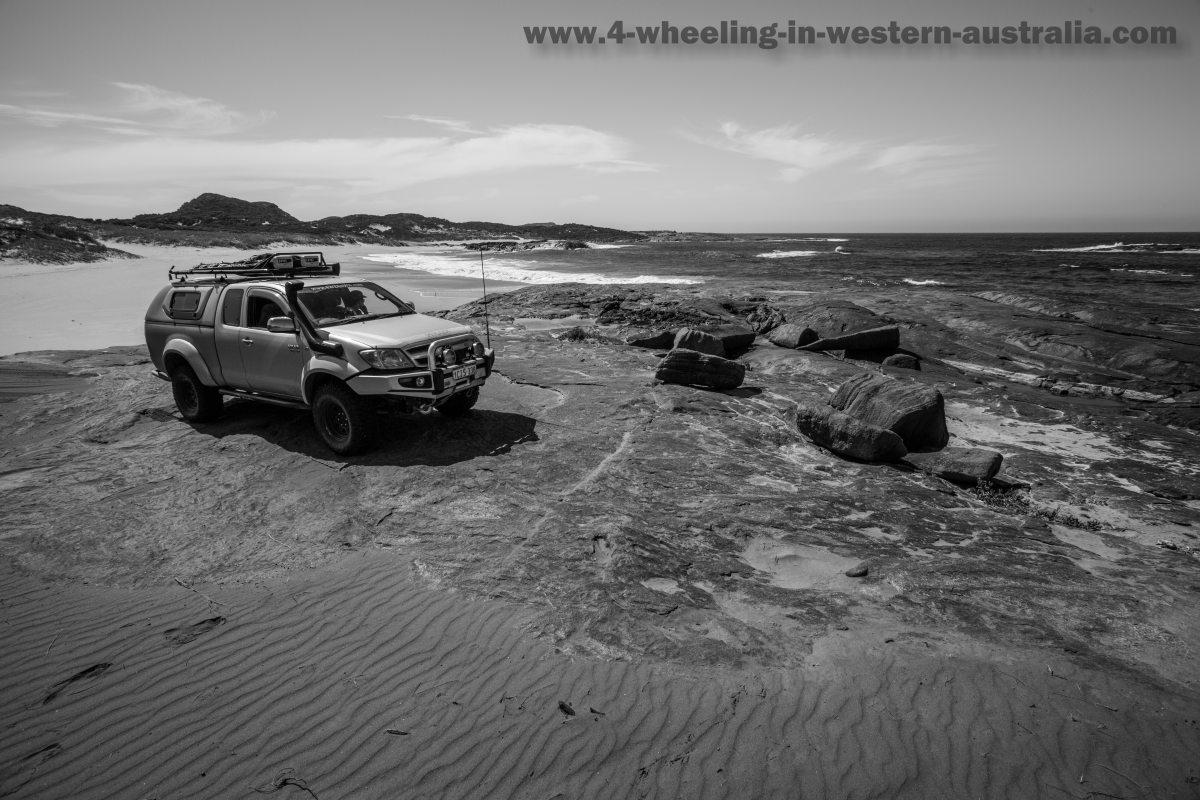 The Gap beach Peaceful Bay, Western Australia.