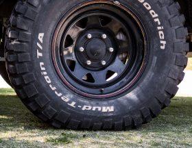 Tire pressure foot print size 10psi