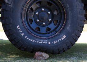 Tyre pressure rock 15psi