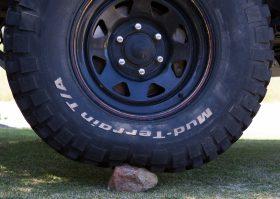 Tyre pressure rock 20psi