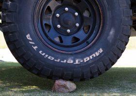 Tyre pressure rock 40psi
