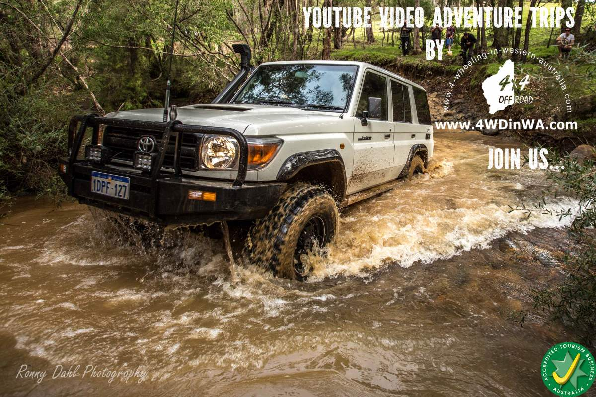 Toyota Land Cruiser 4x4 Accessories Toyota Land Cruiser Doing a