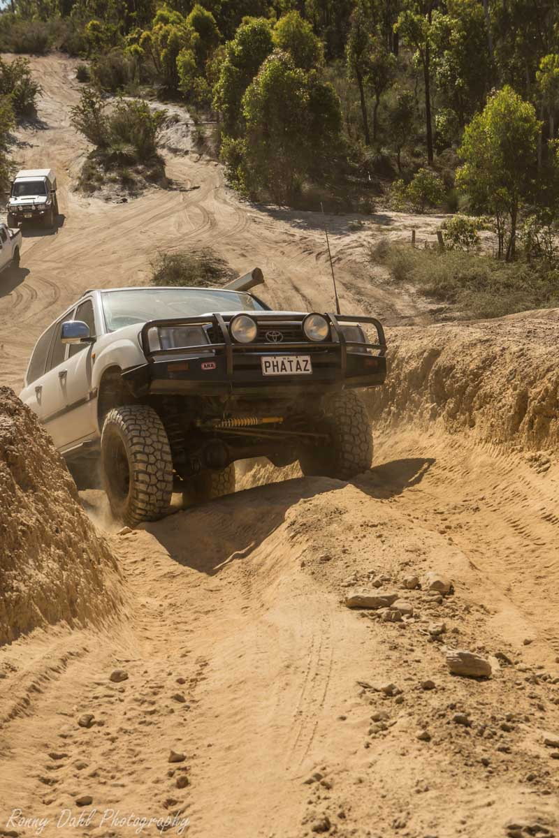 4 Wheeling @ The Power Line Track Perth _J9A0437