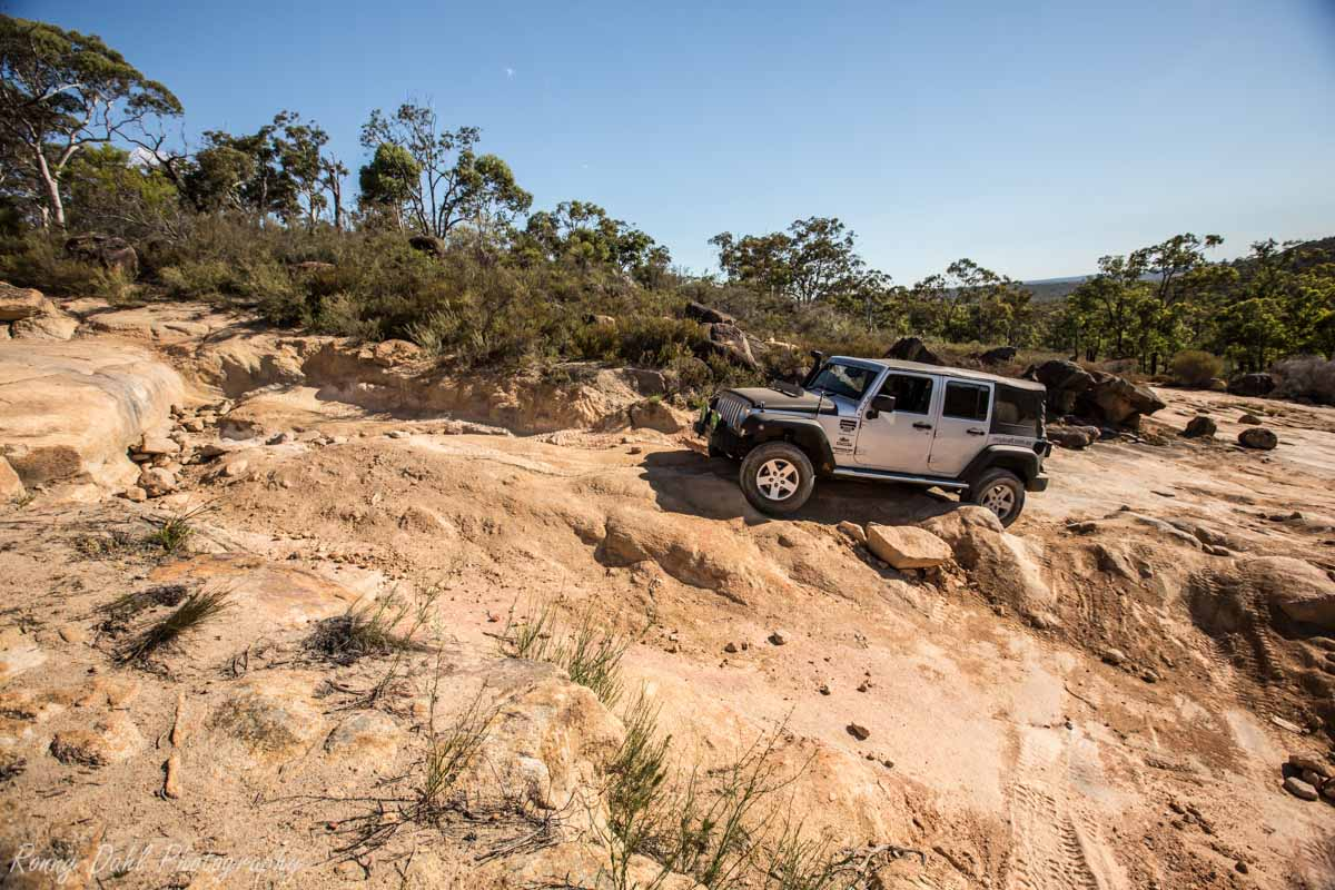 Jeep Wrangler @ The Power Line Tracks, Perth _R2A9661