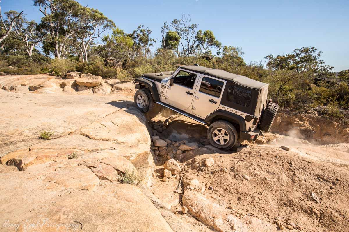 Jeep Wrangler Climbing The Rocks _R2A9667