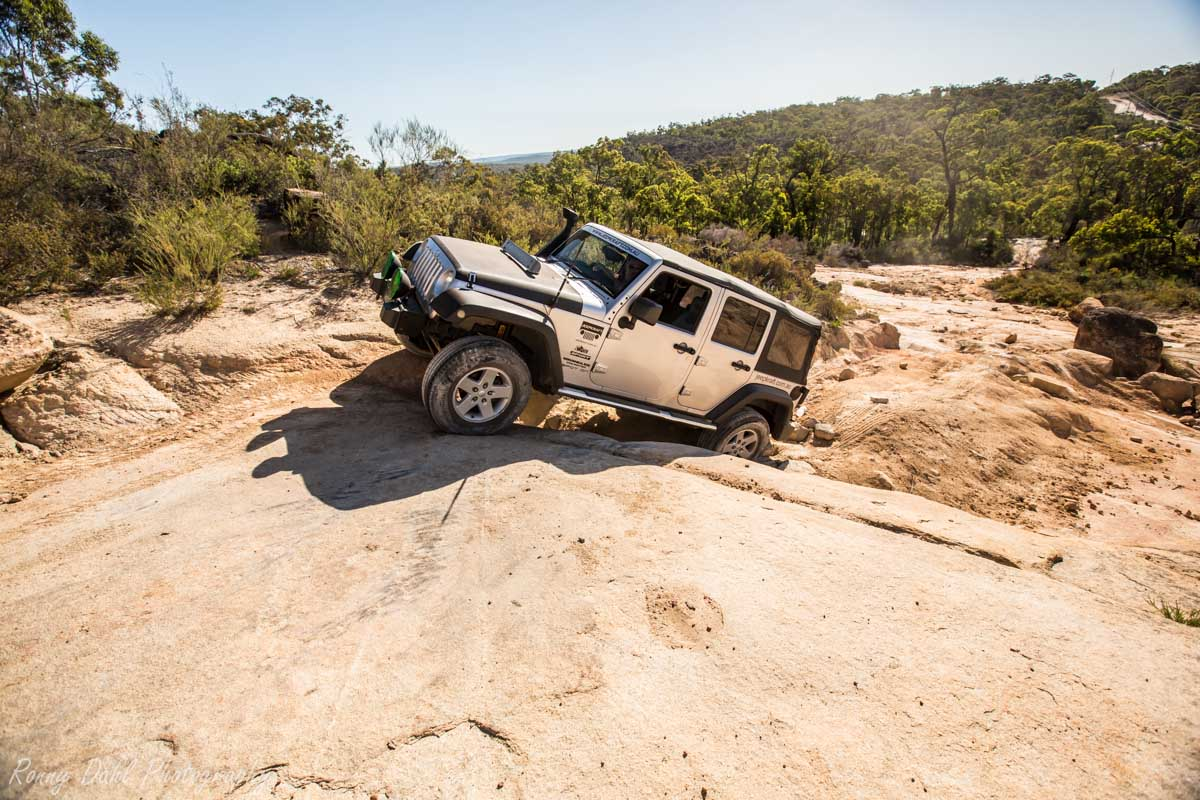 Jeep Wrangler Unlimited Climbing The Rock  _R2A9670