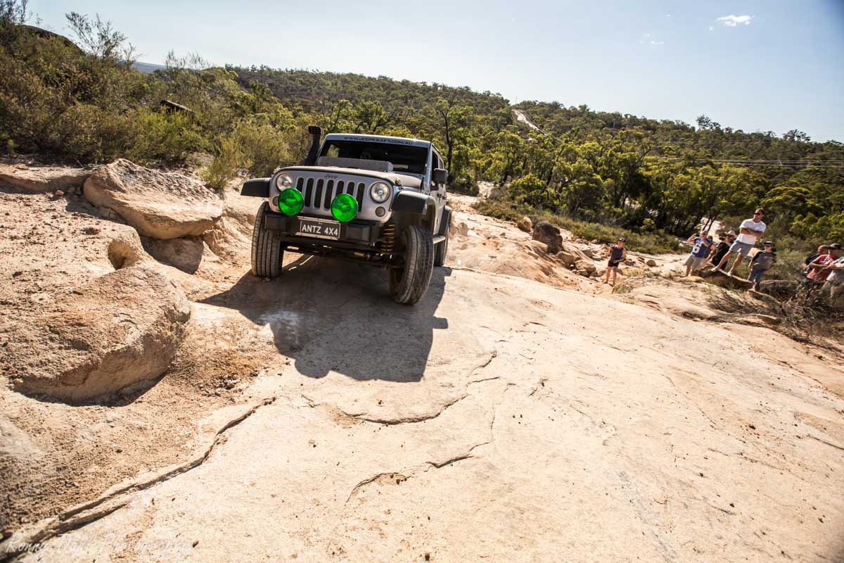 Jeep Wrangler @ The Power Line Track, Perth _R2A9676