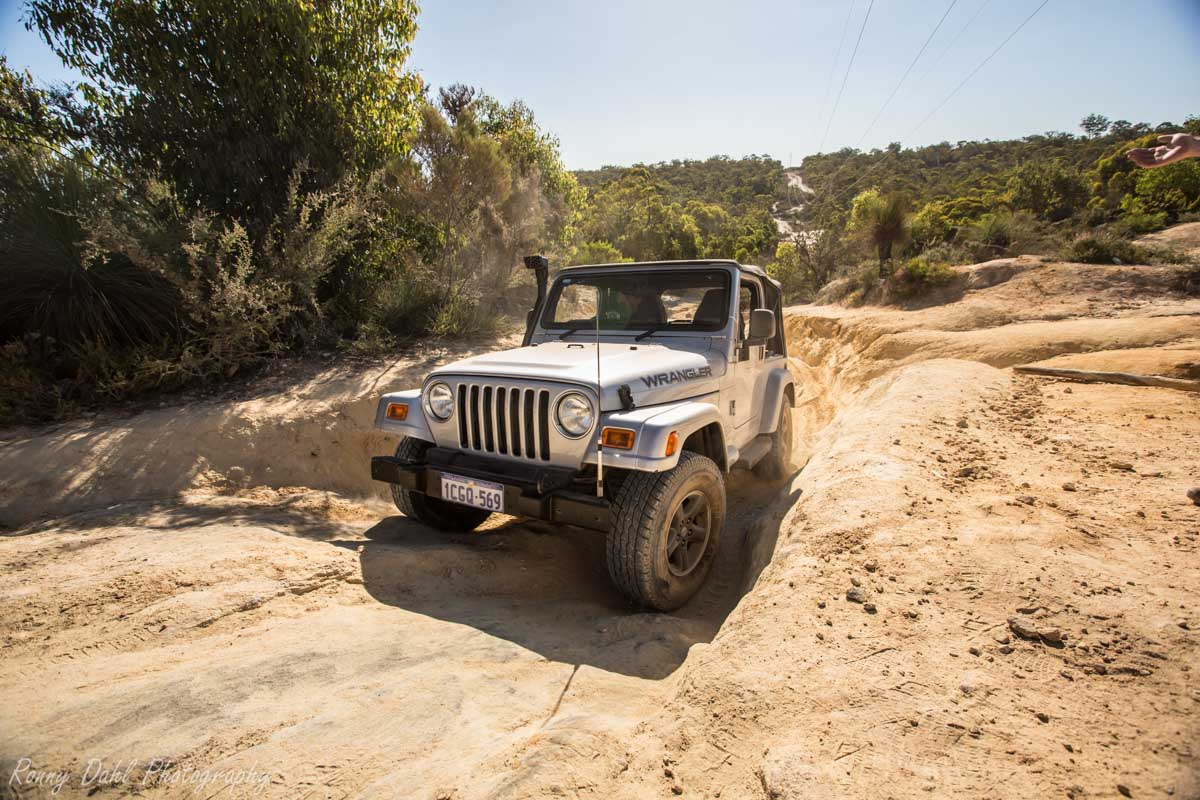 Jeep Wrangler @ The Power Line Track _R2A9681