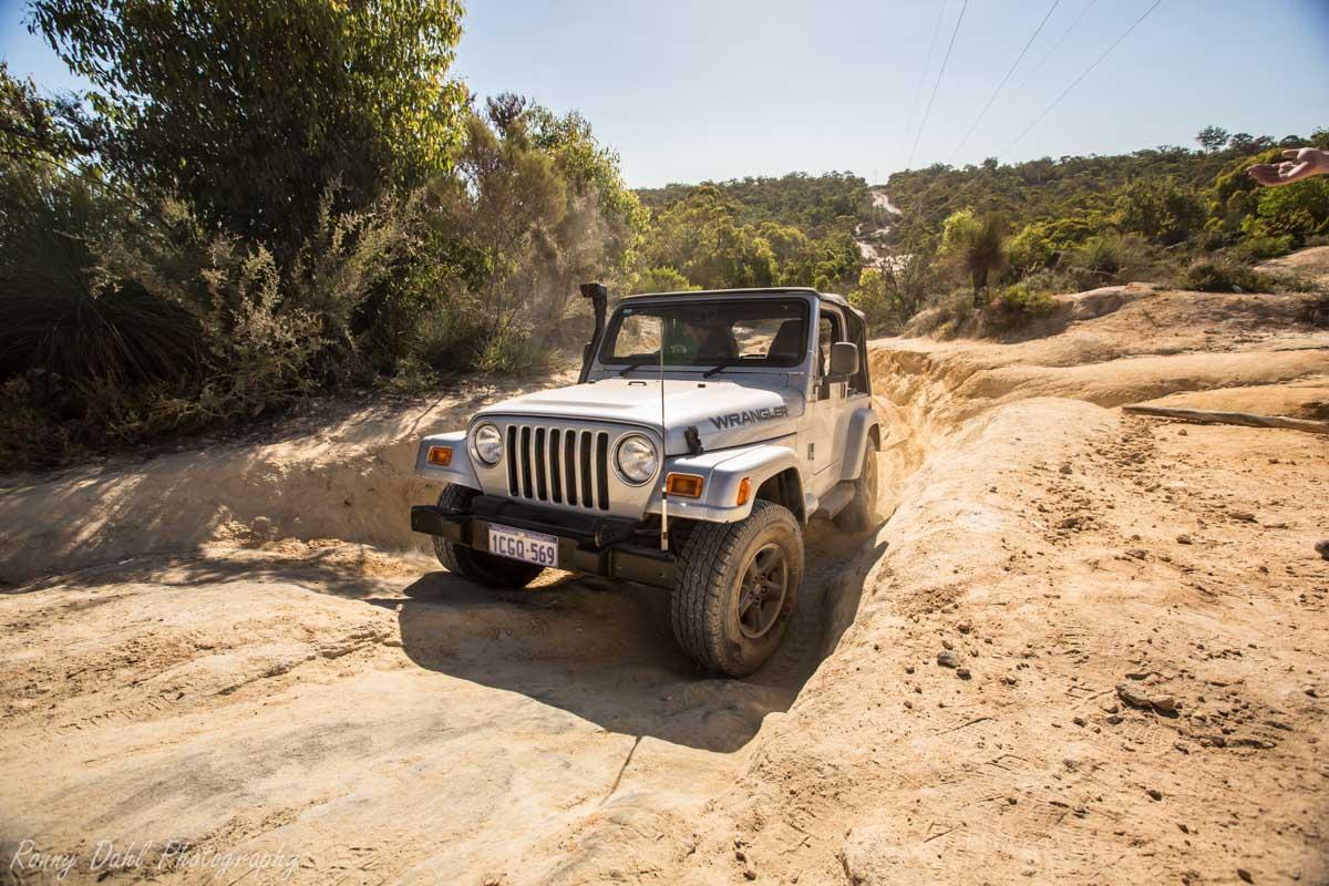 Jeep Wrangler @ The Power Line Track _R2A9681