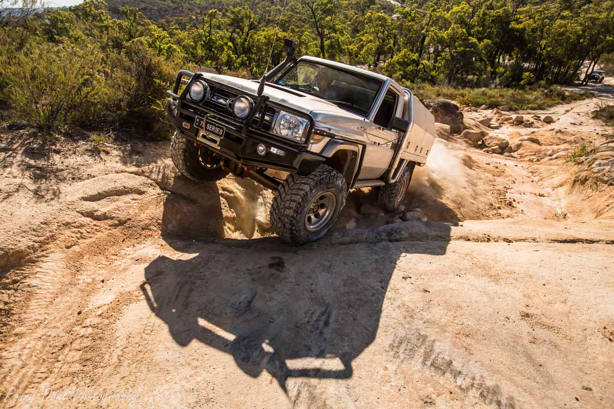 Land Cruiser Rock Crawling @ The Power Line Track _R2A9690
