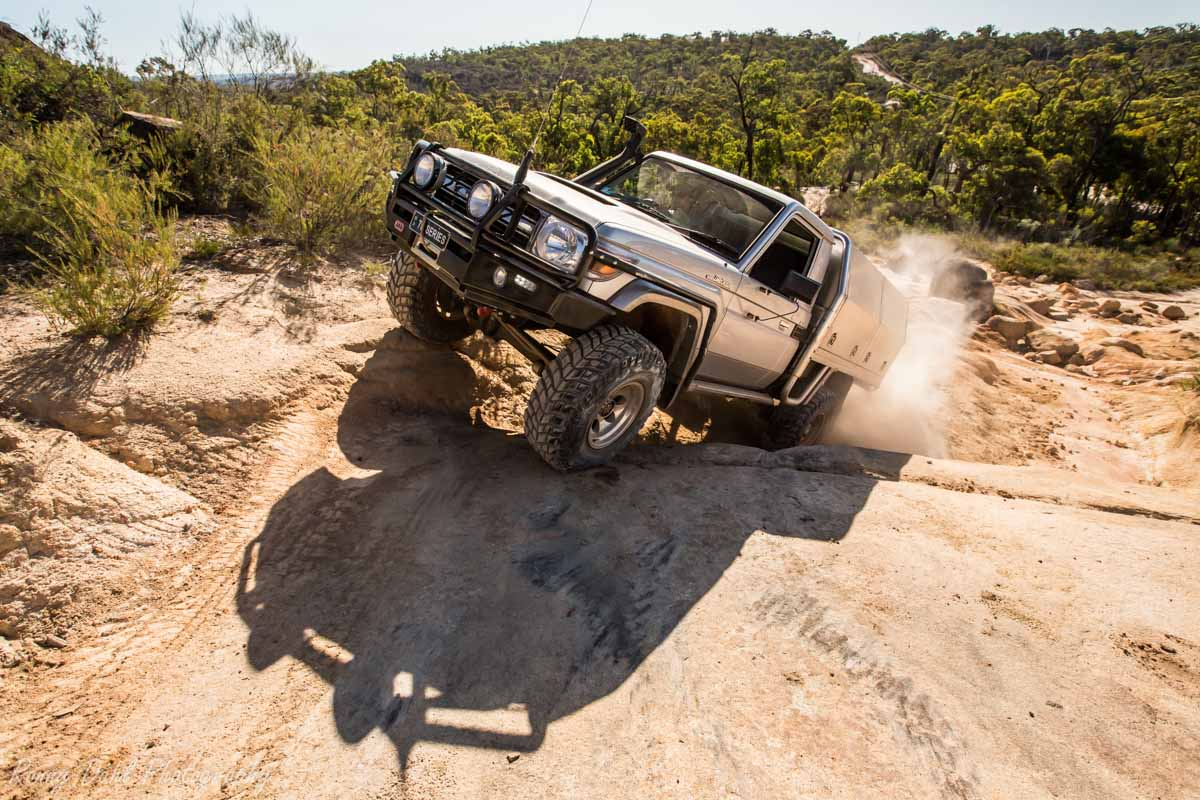 Land Cruiser Rock Crawling @ The Power Line Track _R2A9691