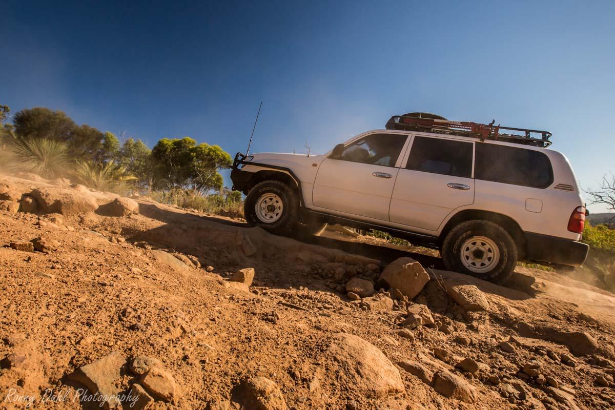 Hill Climb @ The Power Line Track WA _R2A9733