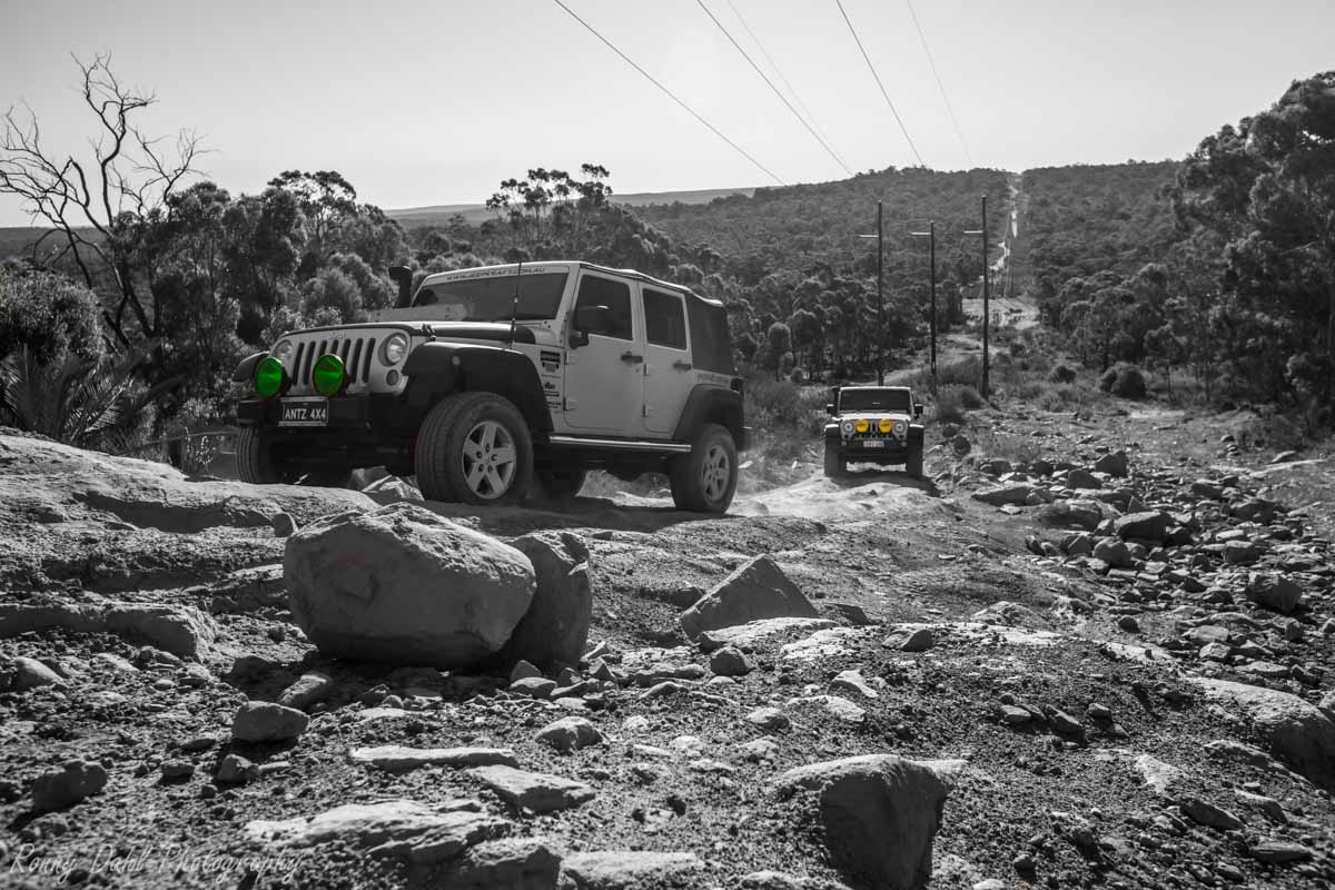 Jeep Wrangler @ The Power Line Track _R2A9736