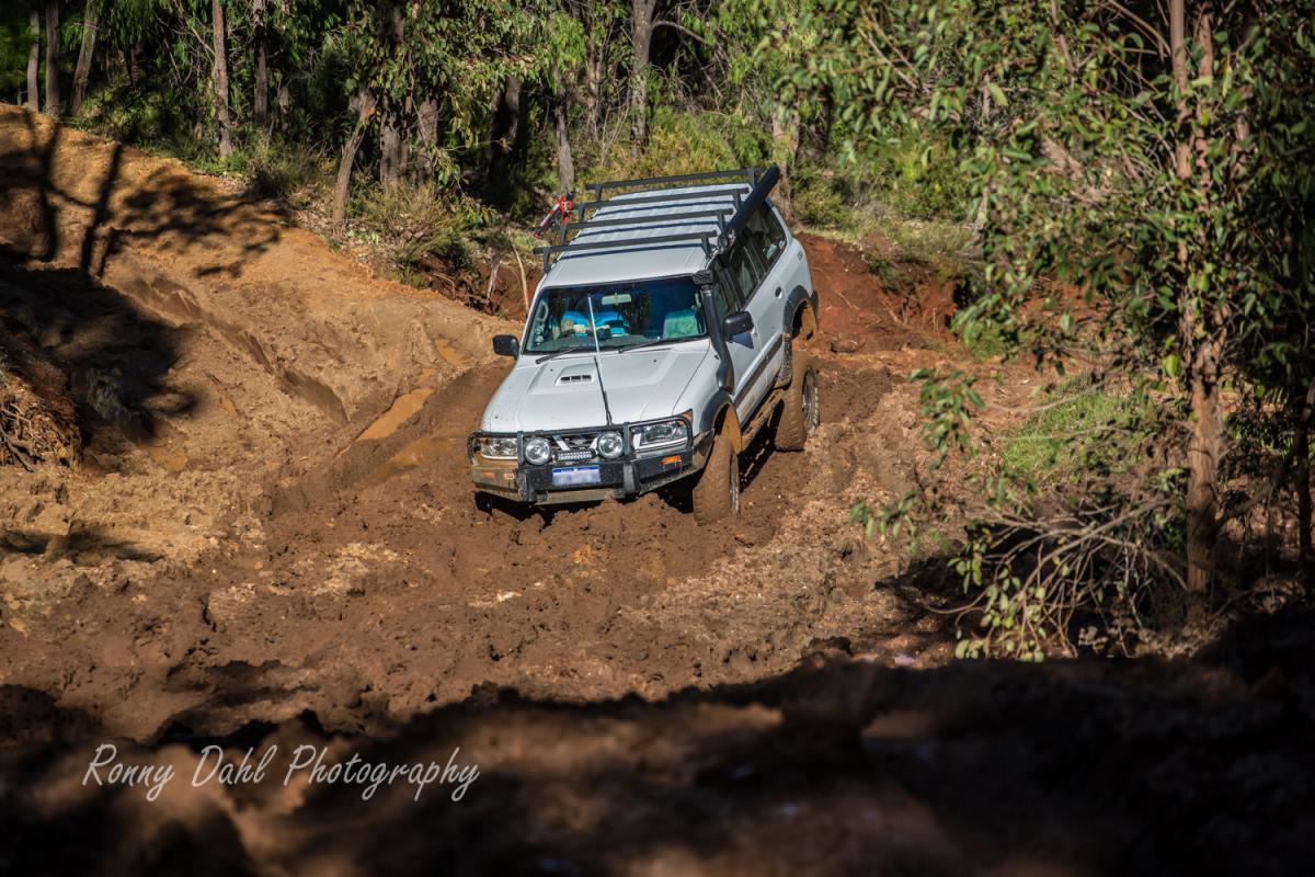 Muddy Hill Climb.